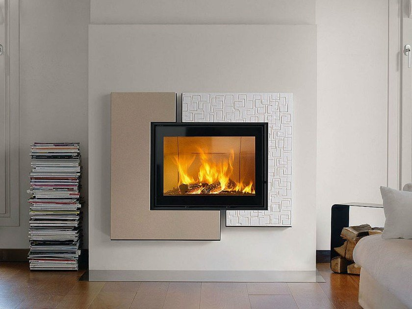 Faïence Fireplace Mantel DARWIN by Piazzetta