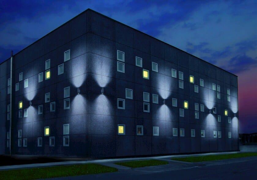 Alluminio Parete Orientabile Per Illuminazione Corinthia In Da Goccia Lampada Esterno O8wPkn0X