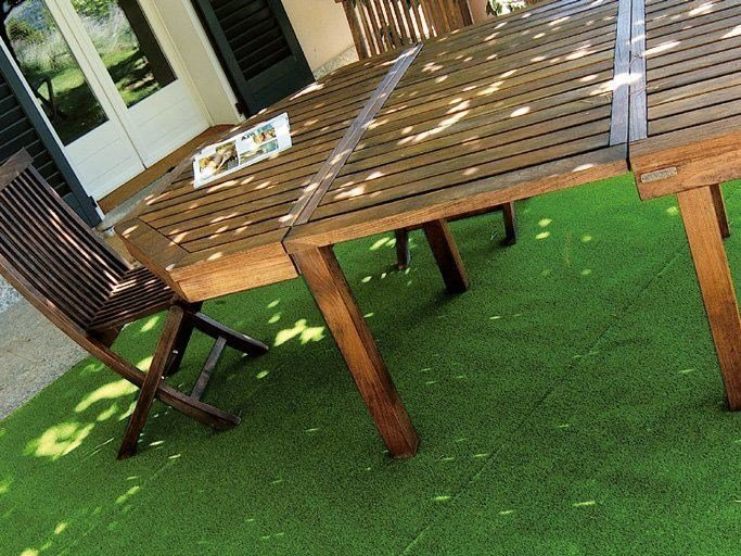 Synthetic grass surface STANDARD GREEN by TENAX