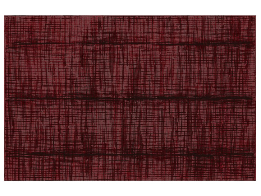 Rectangular striped rug SW RUGS TENTO #3 by STELLAR WORKS