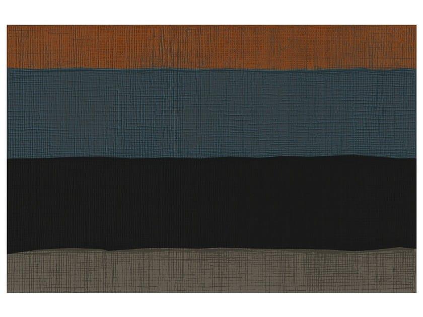Rectangular striped rug SW RUGS AULA #3 by STELLAR WORKS