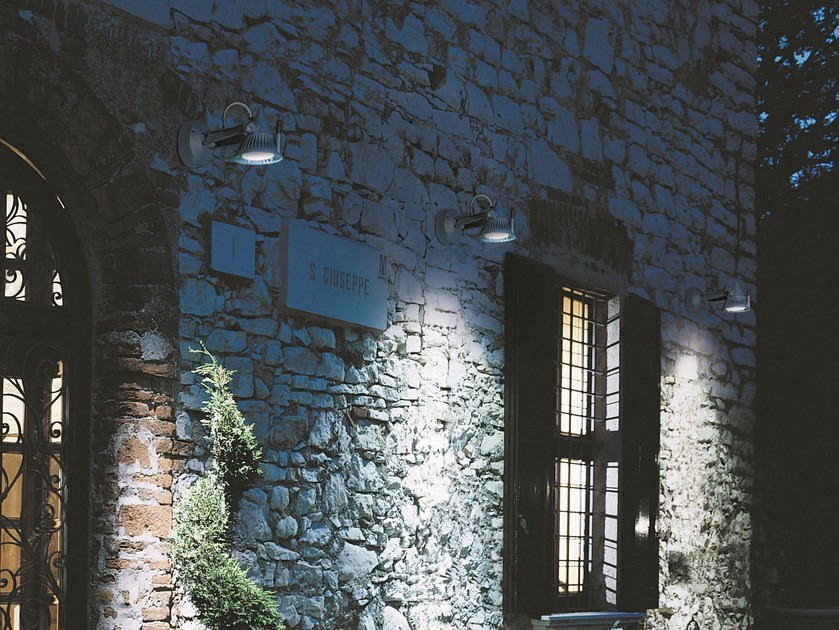 Adjustable aluminium wall lamp STRIKE | Wall lamp by Goccia Illuminazione