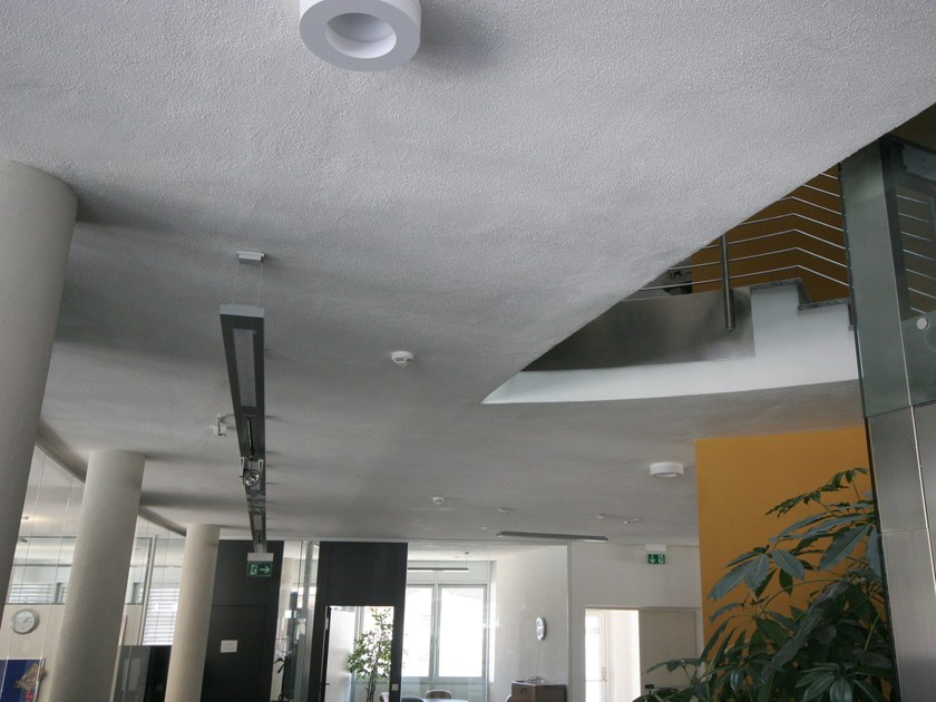Honeycomb slab and self-supporting sheet in reinforced pre-compressed concrete ELEMENT CEILING ECO-XM® by PROGRESS