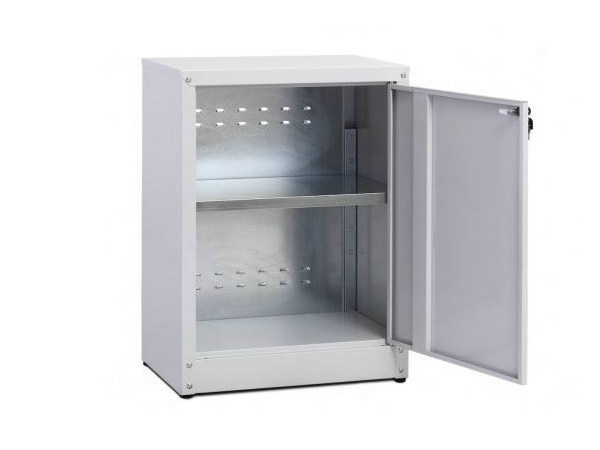 Low office storage unit with hinged doors with lock ZTP454080 | Office storage unit by Castellani.it