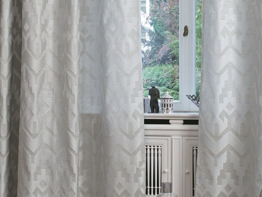 Jacquard fabric for curtains AFFAIR | Fabric for curtains by Zimmer + Rohde