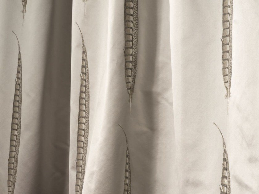 Jacquard fabric for curtains STAR by Zimmer + Rohde