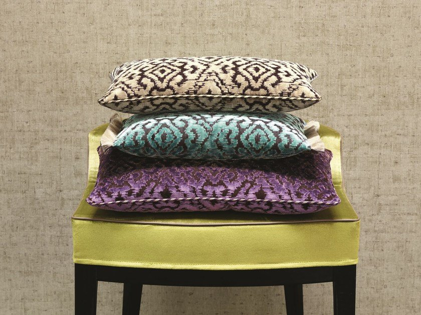 Upholstery fabric with graphic pattern STIMULATION by Zimmer + Rohde