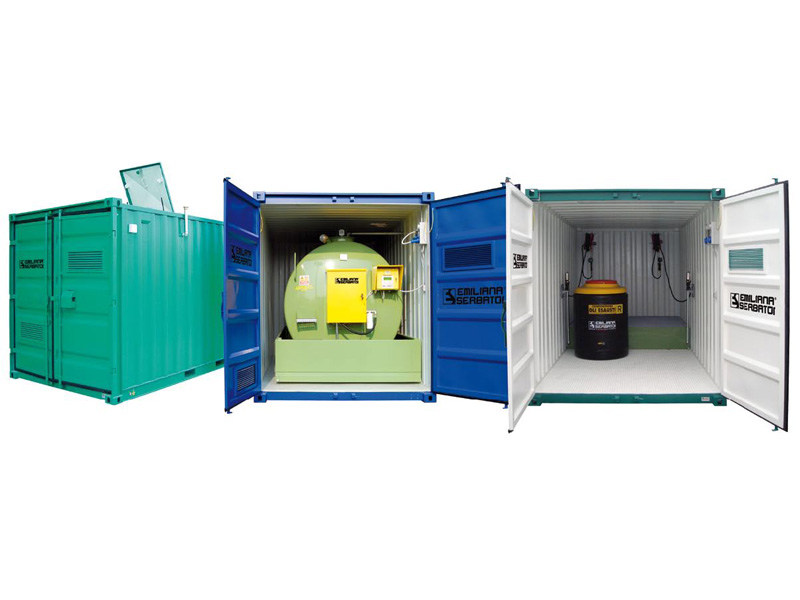 Contenitore container per carburanti OIL FUEL CONTAINER by EMILIANA SERBATOI