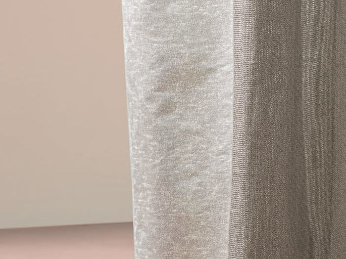 Solid-color fabric for curtains JACKSON by Zimmer + Rohde
