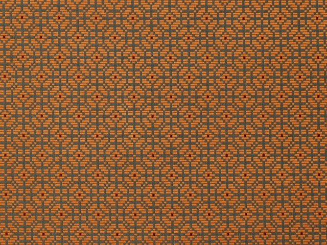 Fabric with graphic pattern PALANQUIN by LELIEVRE