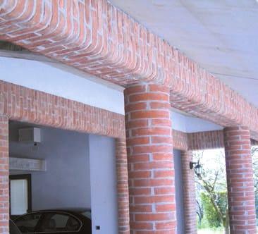 COPRIMURETTE, CORNICI E ANGOLARI Coprimurette, cornici ed angolari di Fornace Fonti
