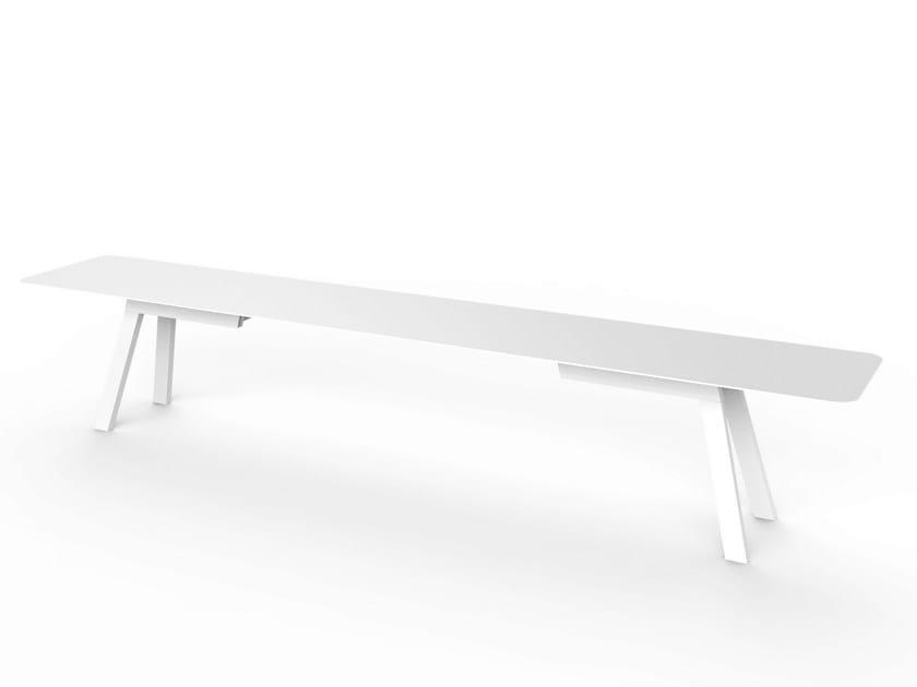 Corian® garden bench SLIM | Corian® bench by VITEO