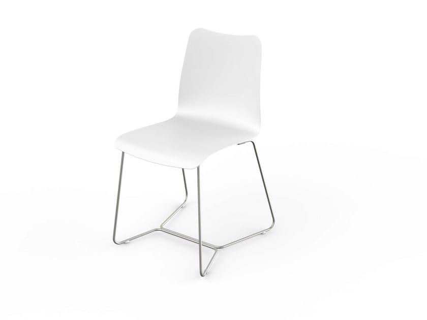 Corian® garden chair SLIM | Chair by VITEO