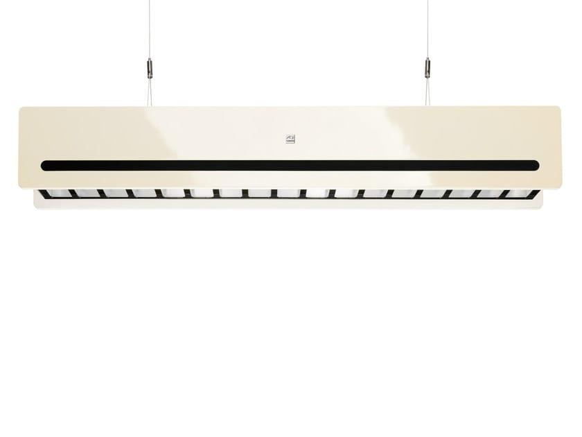 LED steel pendant lamp IWAKI by FLASH DQ
