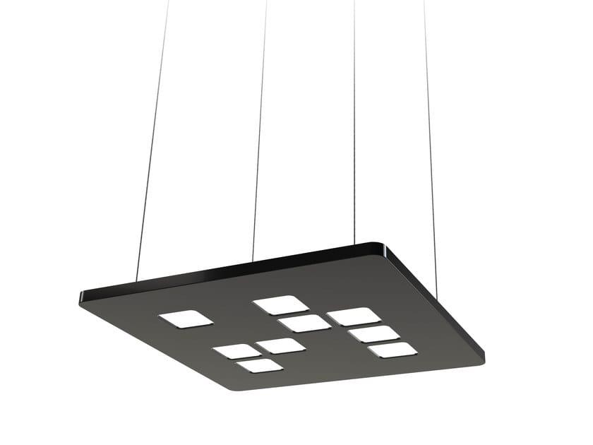 LED plastic pendant lamp MOSAIC MINI by FLASH DQ