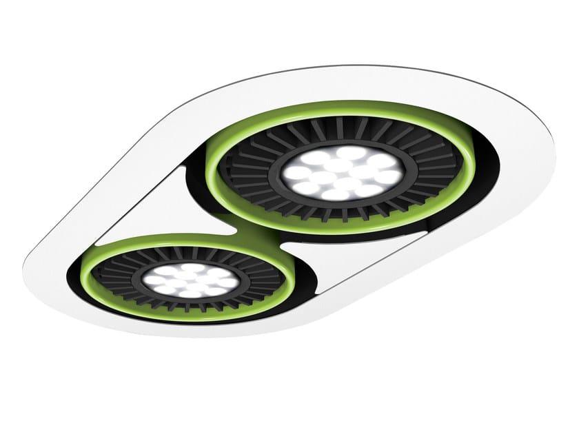 LED recessed spotlight TETRIS B by FLASH DQ