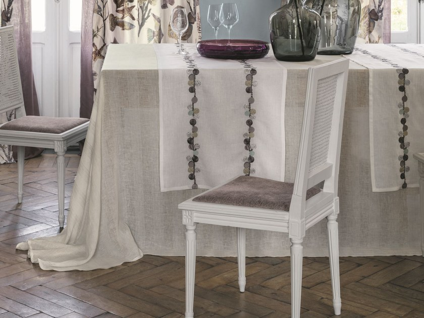 Linen tablecloth HELIOS   Tablecloth by Zimmer + Rohde