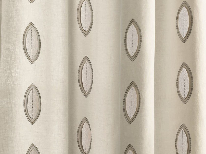Linen fabric for curtains CALISSON | Fabric for curtains by Zimmer + Rohde