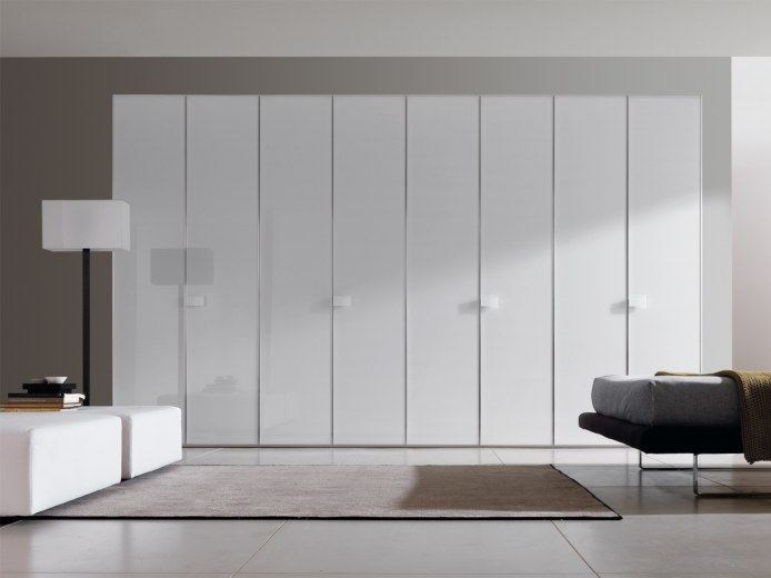Lacquered wardrobe COMBI SYSTEM Z310 by Zalf