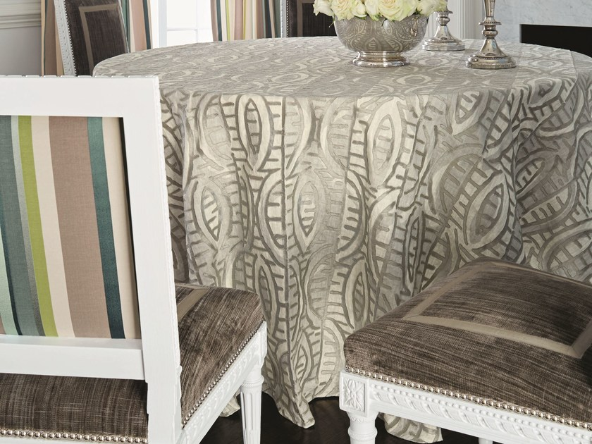 Linen tablecloth CHARLESTON   Tablecloth by Zimmer + Rohde