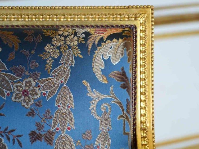 Silk upholstery fabric VERDI by LELIEVRE