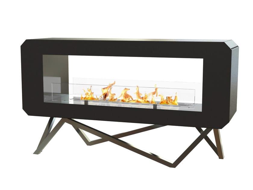 Freestanding bioethanol fireplace URBAN by GlammFire