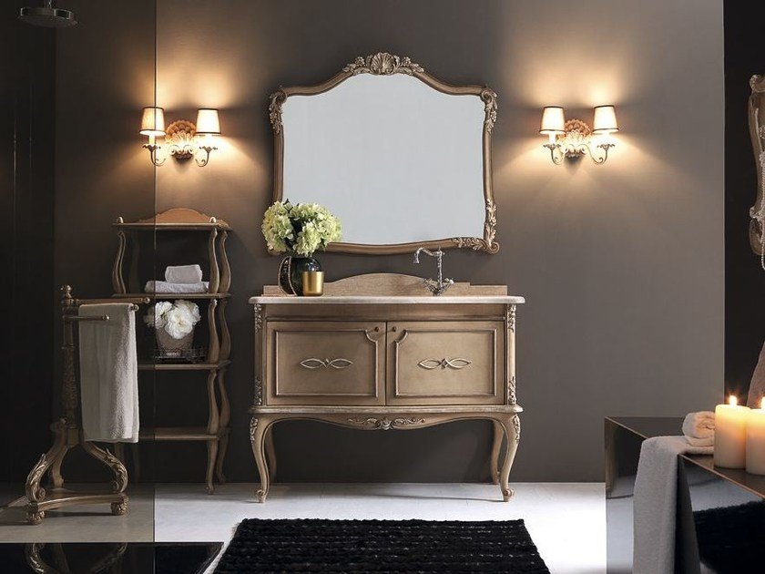 Single vanity unit with drawers 3019-3648 | Vanity unit by Grifoni Silvano
