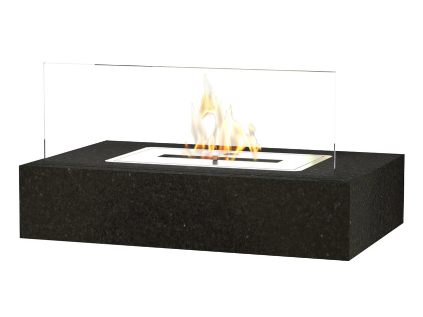 Table-top bioethanol granite fireplace RETRO by GlammFire