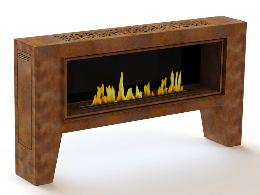 Outdoor bioethanol fireplace with remote control FOGLY II by GlammFire