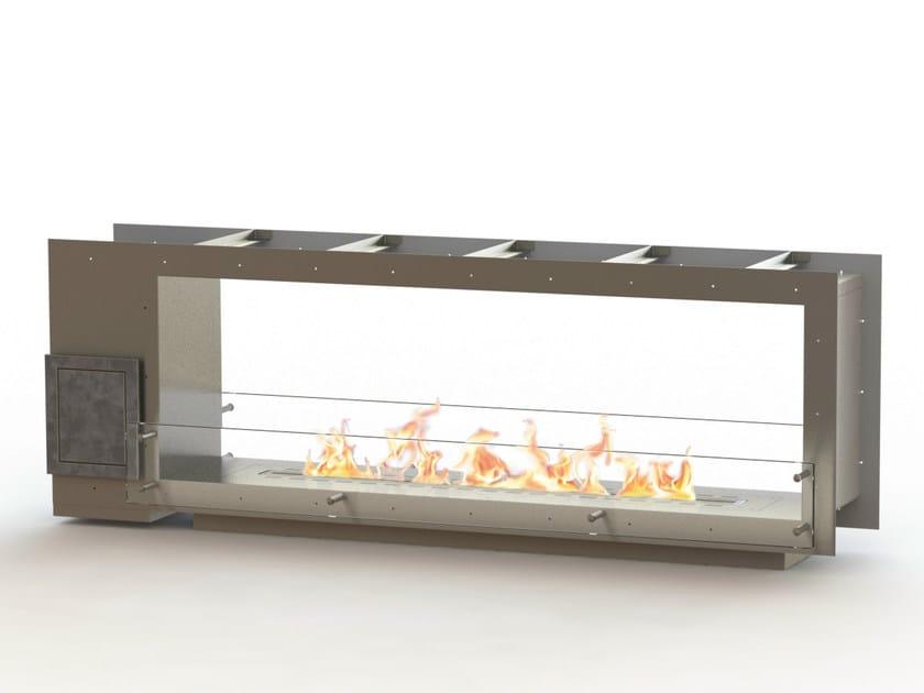 Open built-in bioethanol fireplace GLAMMBOX 1600 DF CREA7ION by GlammFire
