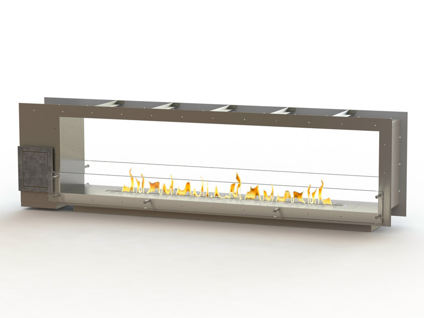 Open built-in bioethanol fireplace GLAMMBOX 2150 DF CREA7ION by GlammFire