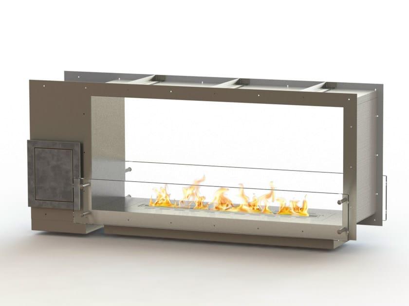 Open built-in bioethanol fireplace GLAMMBOX 1150 DF CREA7ION by GlammFire