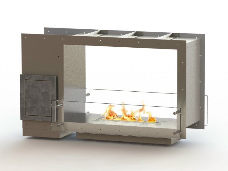Open built-in bioethanol fireplace GLAMMBOX 770 DF CREA7ION by GlammFire