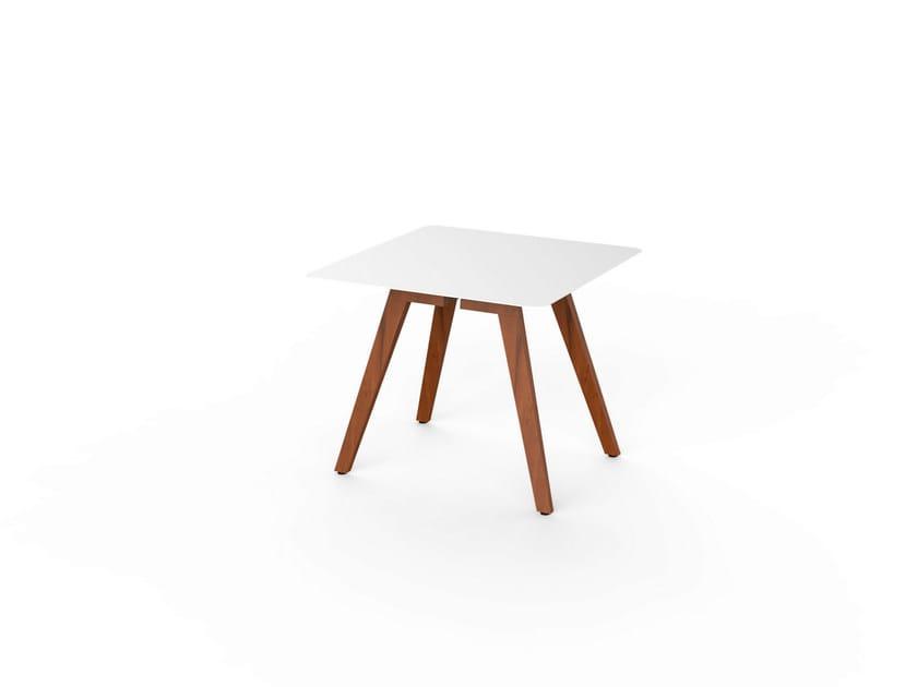 Slim Dining Viteo Corian® Legno In Quadrato 90 Tavolo E Wood wPXO8kn0