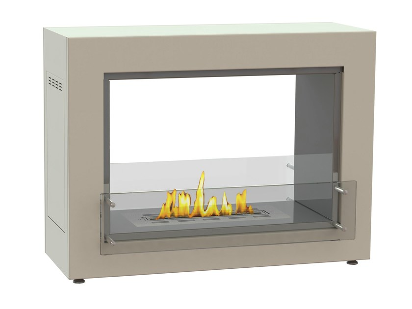 Open freestanding bioethanol fireplace MUBLE 1050 DF CREA7ION by GlammFire