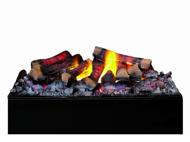 Electric built-in fireplace with remote control KIT GLAMM 3D M by GlammFire