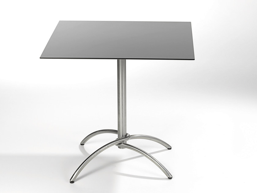 Folding square table TAKU | Folding table by FISCHER MÖBEL
