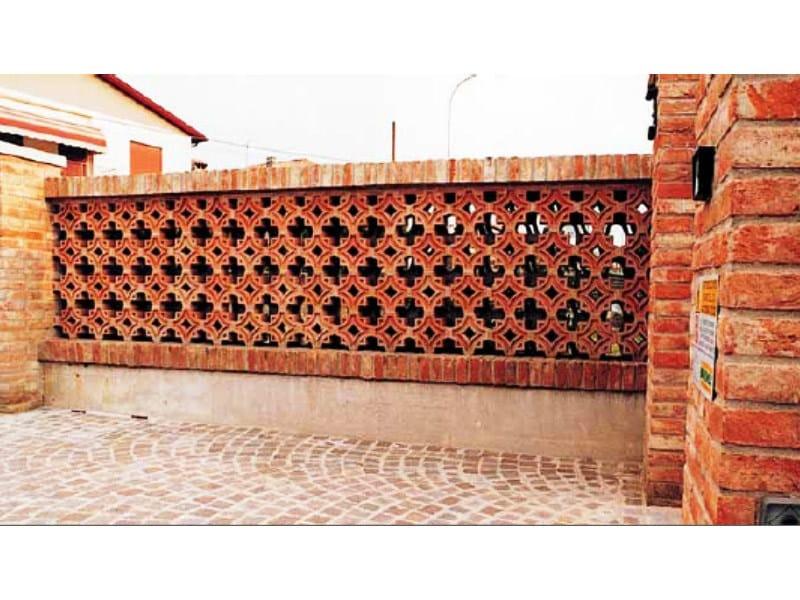 Mattoni Forati Per Recinzioni Giardino.Pezzo Speciale Facciavista In Laterizio Frangisole Fornace Fonti