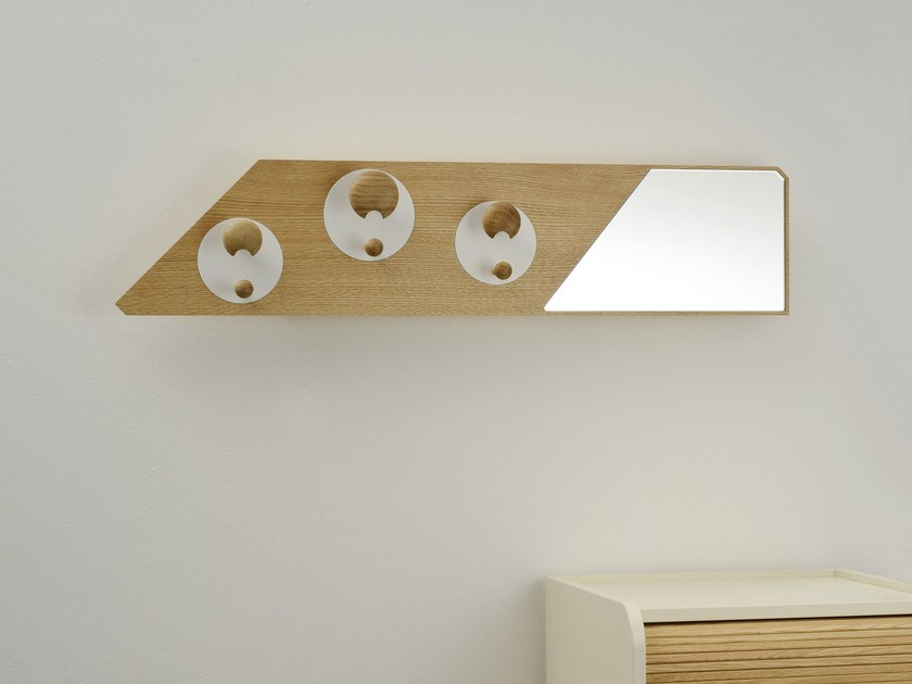 Wall-mounted coat rack REGOLA by Colé Italia