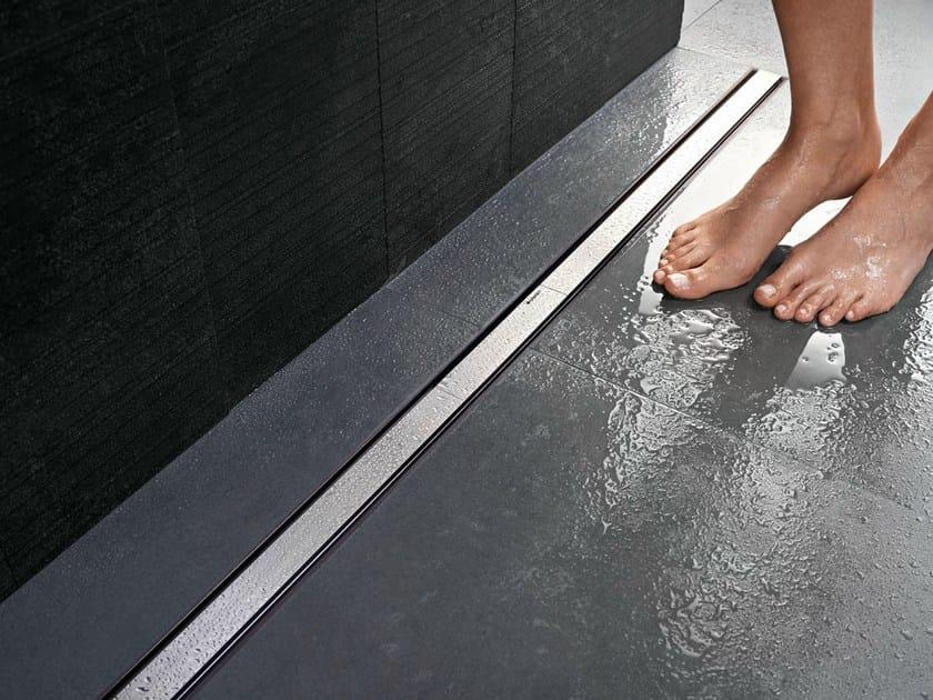Scarico per doccia in acciaio cleanline by geberit italia