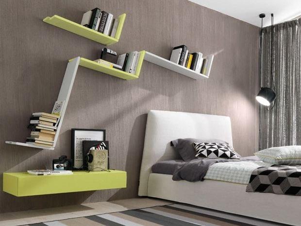 Wall shelf ZEDLINE by Zalf
