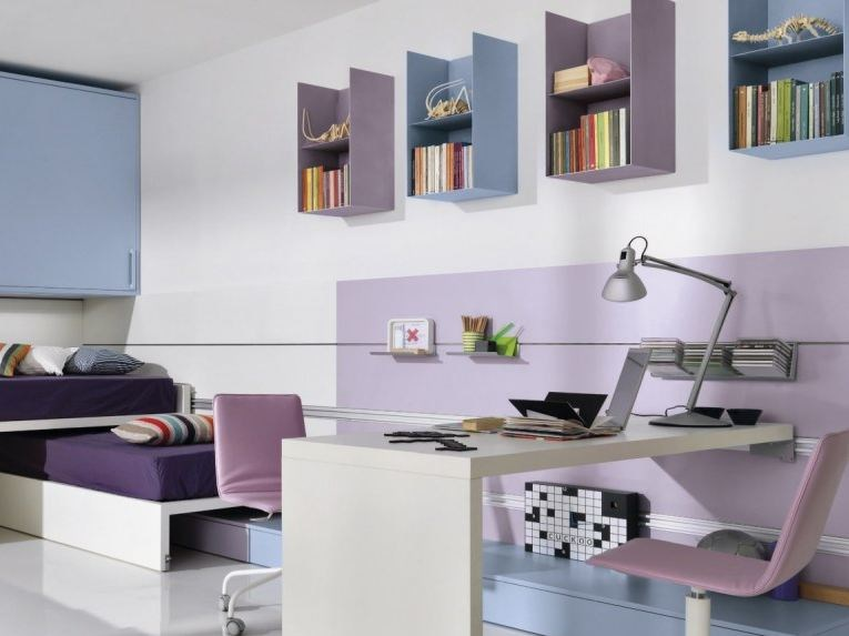 Lacquered wall cabinet FREEBOX by Zalf