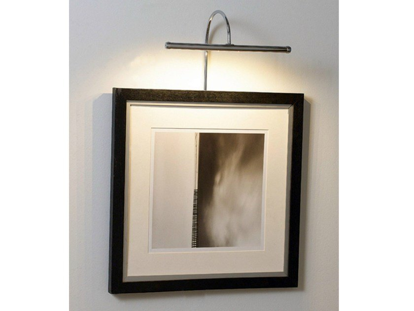 LED metal picture light 53010 | Picture light by Tisserant