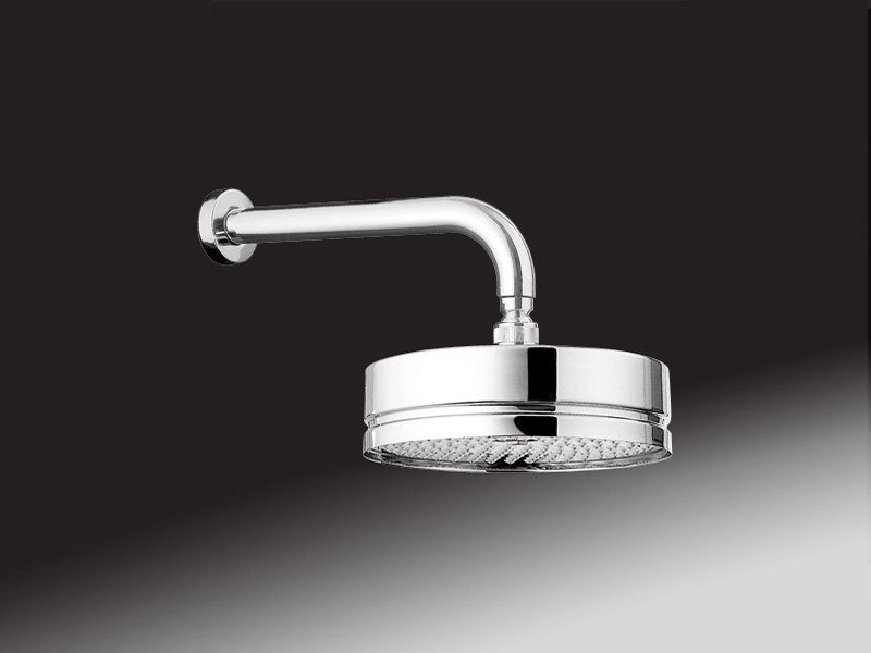 Wall-mounted overhead shower with arm 1517 | Overhead shower by Rubinetteria Giulini
