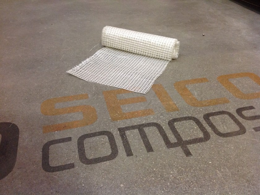 Reinforcing fabric GLASSNET by Seico Compositi