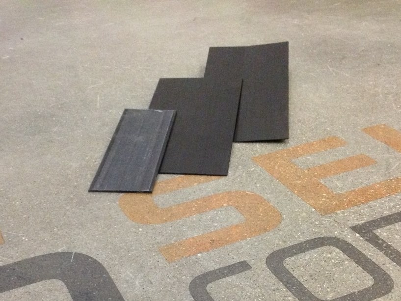 Carbon fibre pultruded plate LAMINA UD by Seico Compositi