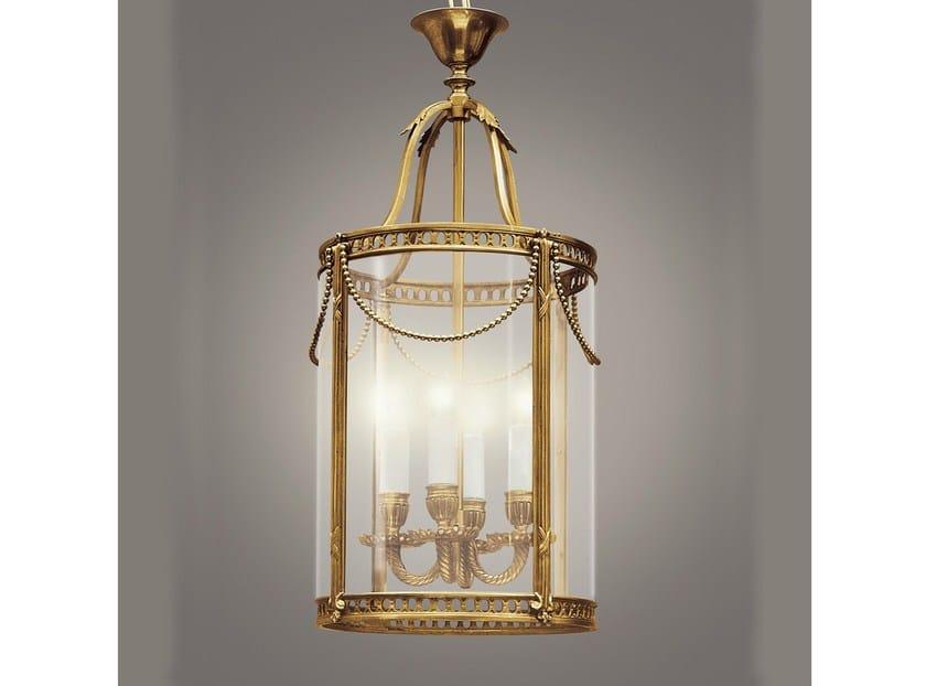 Bronze chandelier 30632 | Chandelier by Tisserant