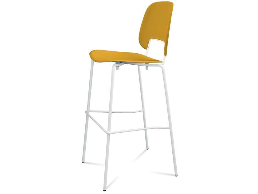 Polypropylene chair TRAFFIC | Chair by DOMITALIA