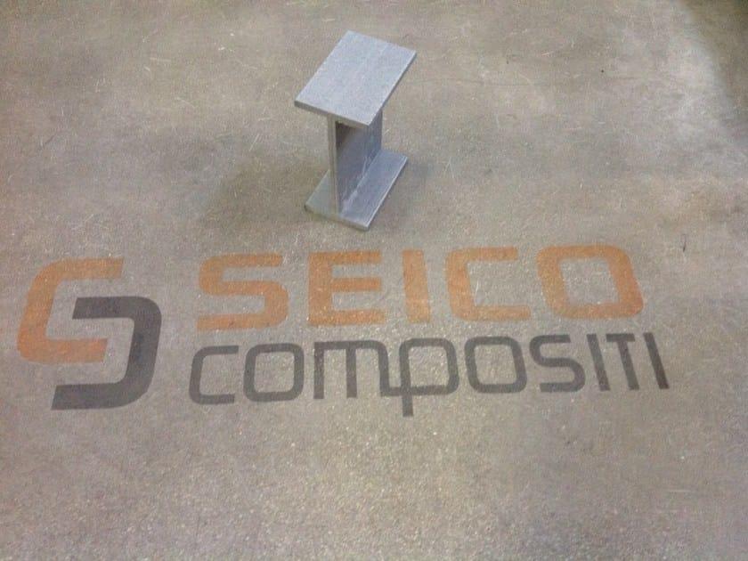 Plastic Structure in special material PROFILE GFRV by Seico Compositi