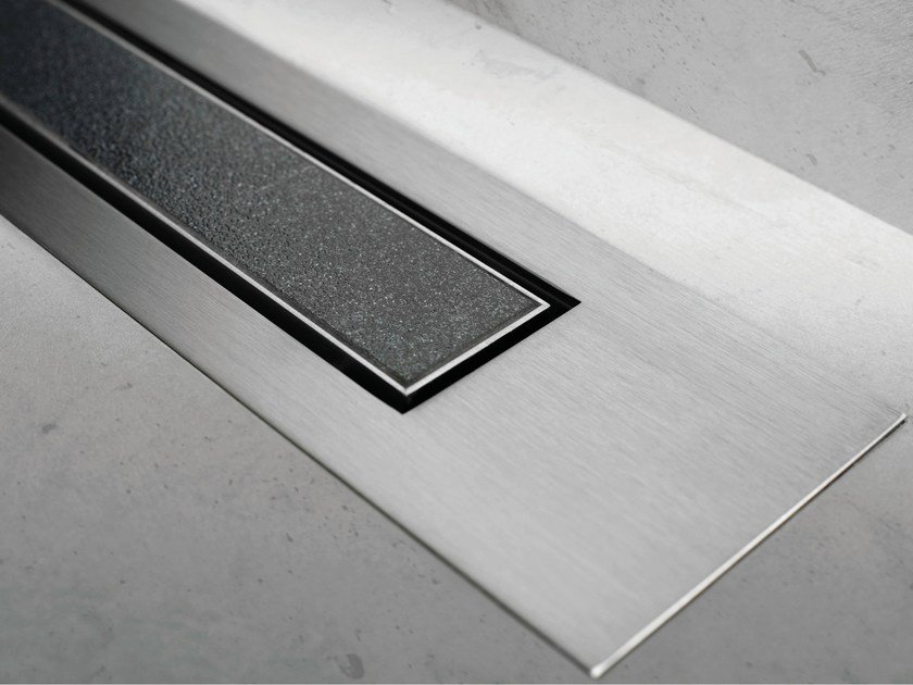 Shower channel MODULO DESIGN Z-4 TILE+BRUSHED by ESS Easy Drain